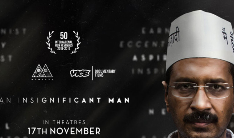 for movie 'an insignificant man' this man filed plea in supreme court