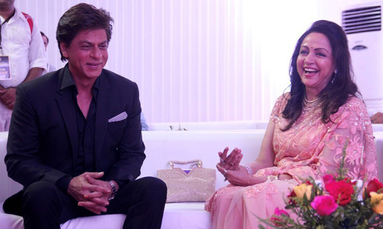 Image result for shahrukh khan and hema