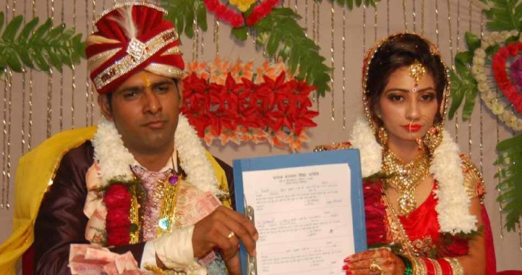uniqur marriage at sonipat, bride groom take oath of organs donation, body donation