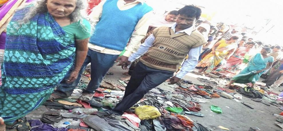 3 dead AND 10 injured after stampede at Simaria Ghat in Begusarai