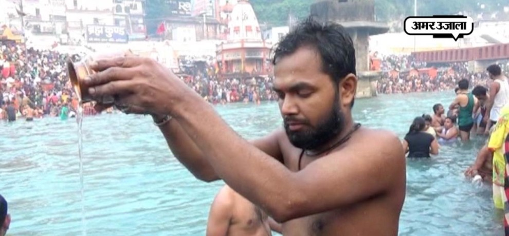 IN VARANASI AND HARIDWAR Devotees throng banks of river Ganga to celebrate Kartik Purnima