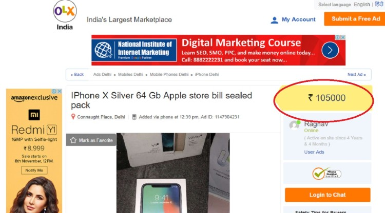 Iphone X Price In Pakistan Olx
