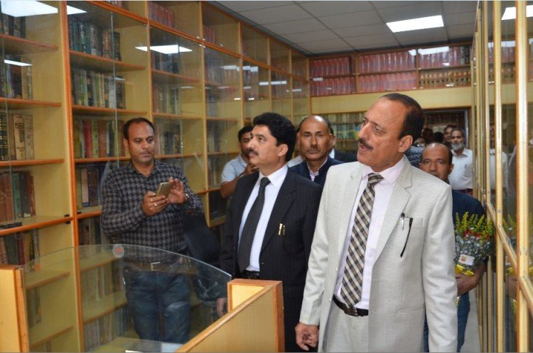 law department E-Library inaugurated  in jammu