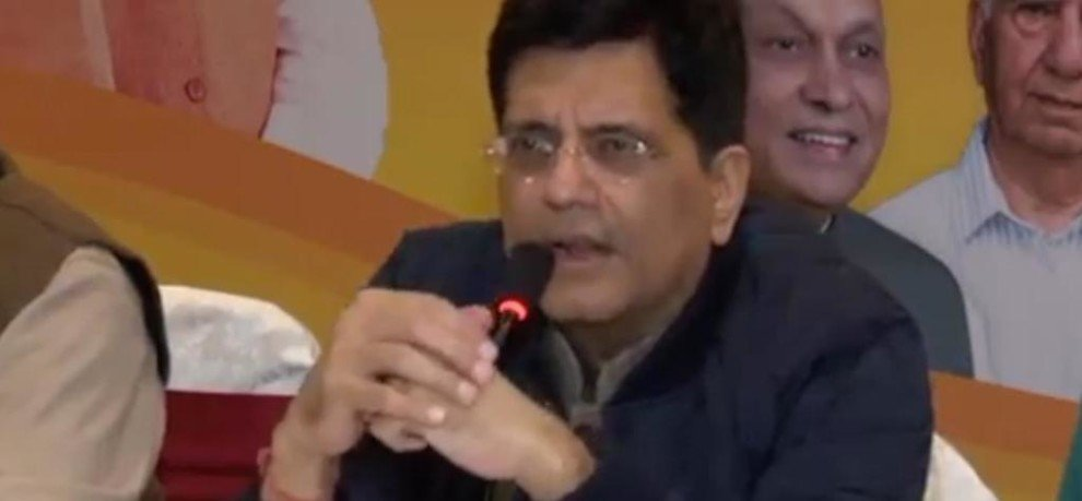 PIYUSH GOYAL CLAIMS BJP WILL WIN 60 SEATS IN HIMACHAL PRADESH ELECTIONS