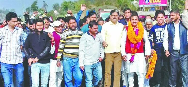 Panthers party workers demand separate state of Jammu