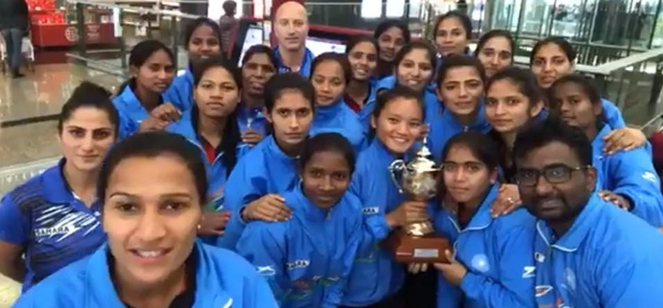 Asia Cup Hockey: Indian women's team to get reward of Rs 1 lakh each after Title win