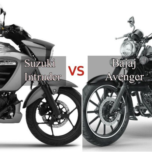 Suzuki Intruder vs Bajaj Avenger: Price, Specification, Features Comparision
