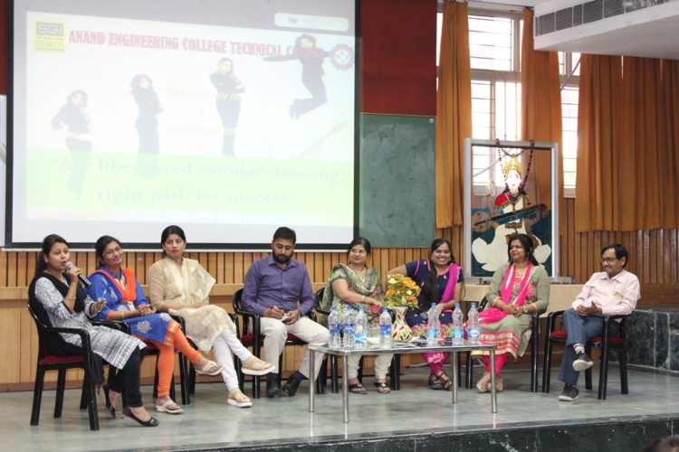 SGEI: Discussion on women empowerment organized at Anand college agra