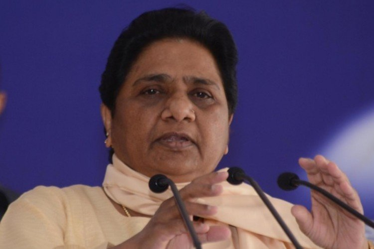 mayawati expelled BSP MP's son from the party.