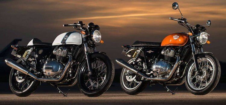 Royal Enfield Interceptor 650 Twin and Continental GT 650 Twin