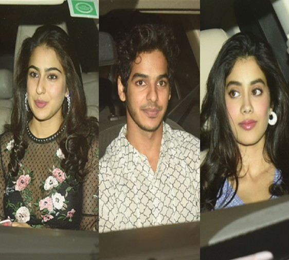 Ishaan Khatter and Jahnavi Kapoor are dating each other