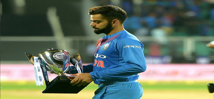 IndvsNZ: after india's win against New Zealand Pakistan on top of T20I points table