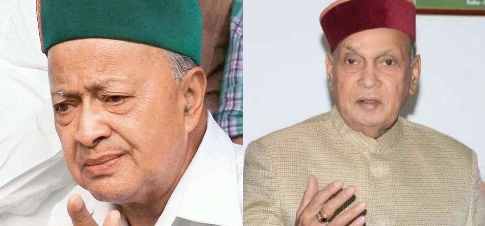 virbhadra singh prem kumar dhumal cannot cast their votes