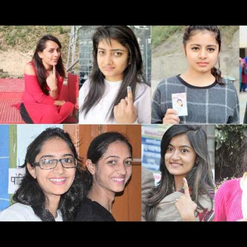 himachal assembly election 2017 young voters cast their vote