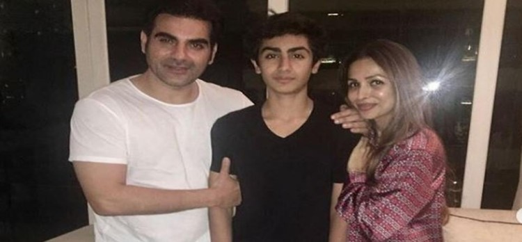 Malaika Arora and Arbaaz Khan celebrated son Arhaan's birthday together