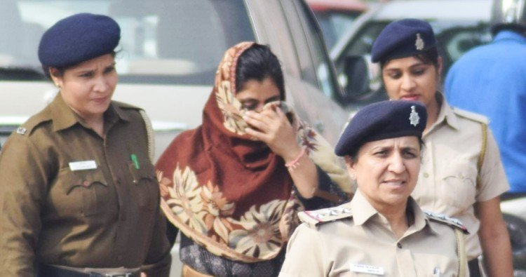 Women arrested in Haryana Judiciary paper leak case
