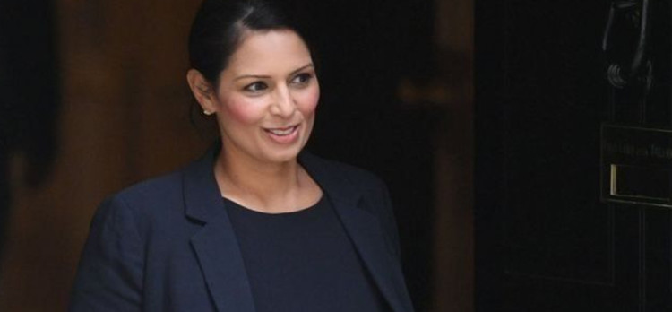 reason which is responsible for British politician priti patel resignation