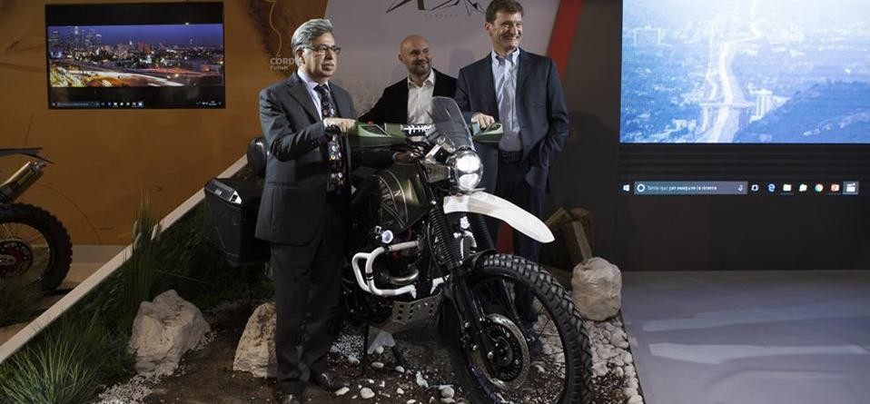 Hero MotoCorp unveiled Hero XPulse adventure bike concept at EICMA 2017