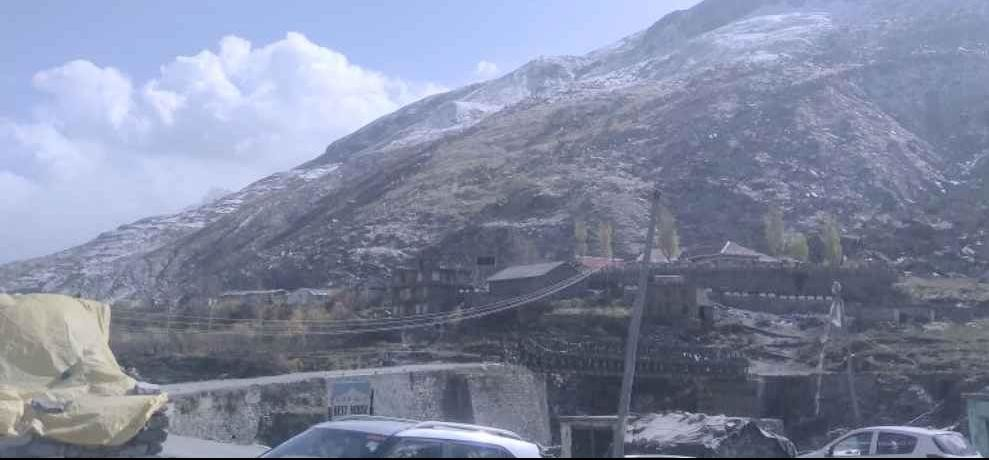 Himachal snowfall in rohtang and lahaul valley