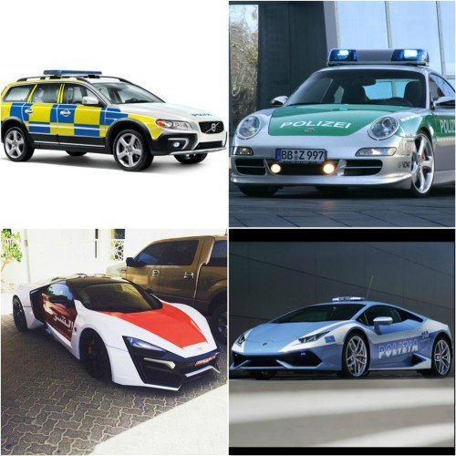 Lamborghini to Ferrari here are 5 Fastest Police Supercars From Around The World