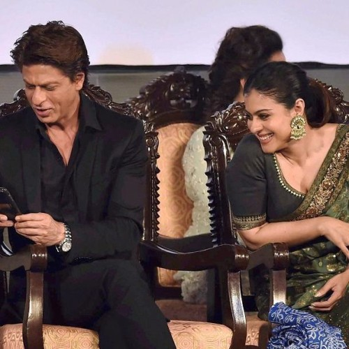 Kajol and Shahrukh Khan meets after several years