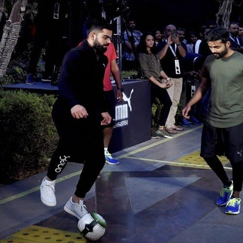 Team india captain Virat Kohli gave Inspiring health and fitness tips to younger