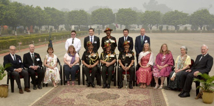 british gorkha office came varanasi for gorkha rifles event
