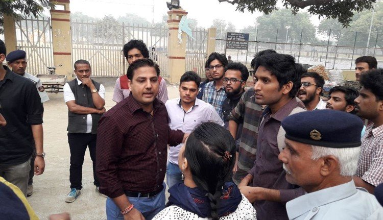 BHU and IIT students fight for DJ night in campus