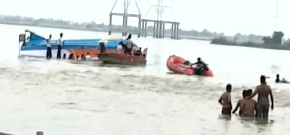 Krishna boat capsize incident 14 bodies recovered so far from Vijayawada
