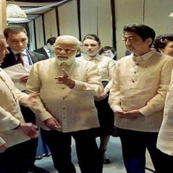 PM Modi Grand welcome in Philippines, see pictures