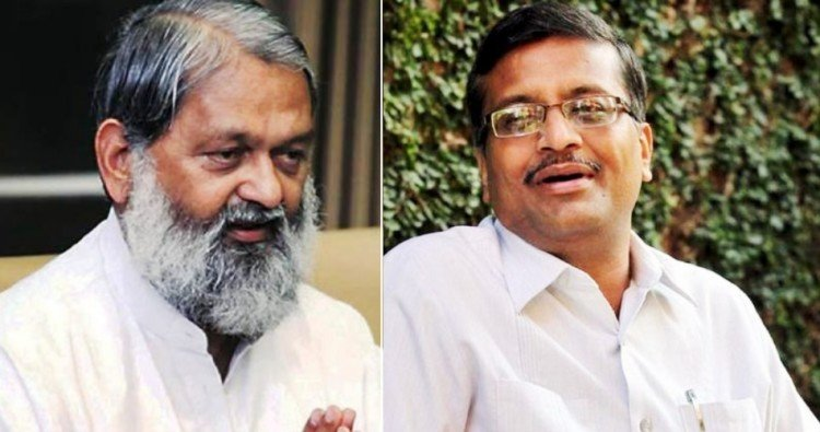 Anil Vij and Ashok Khemka