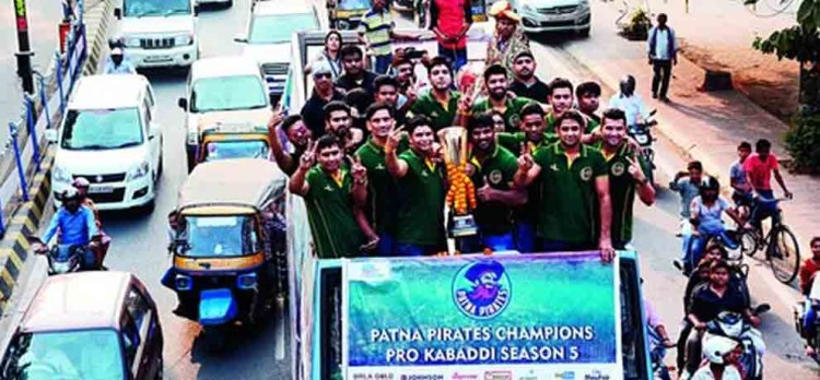 patna pirates felicitated by governor of bihar