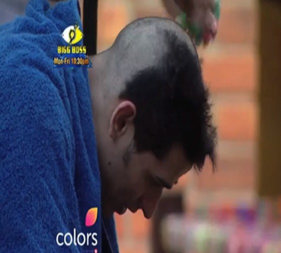 priyank sharma bald to safe his friend to nomination in bigg boss 11