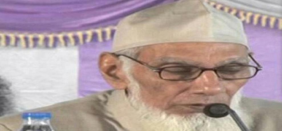 Shaikh Hadees of Darul Uloom Waqf Maulana Aslam Qasmi dies