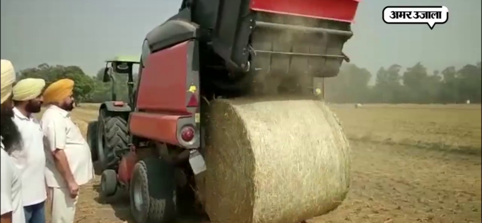 How to utilize crop residue of paddy fields, amazing machines