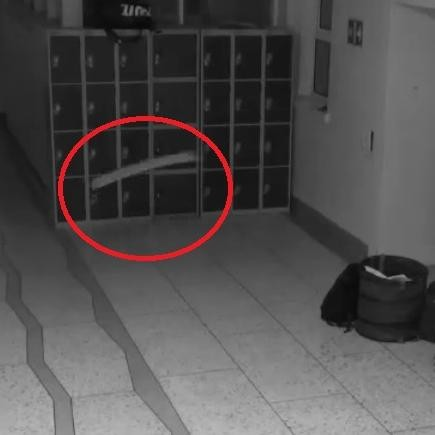 horrible video captured in cctv at ireland school