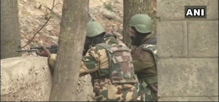 J&K, during encounter killed one Hizb terrorist, success in the destruction of terrorist base