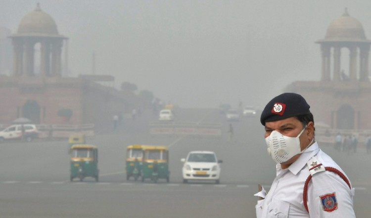 dust strom of gulf courtries is responsible for smog in delhi ncr