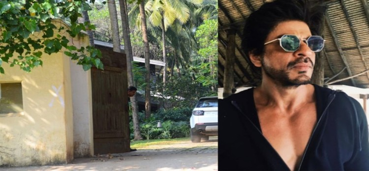 Actor Shahrukh Khan in trouble for his Alibaug vila construction