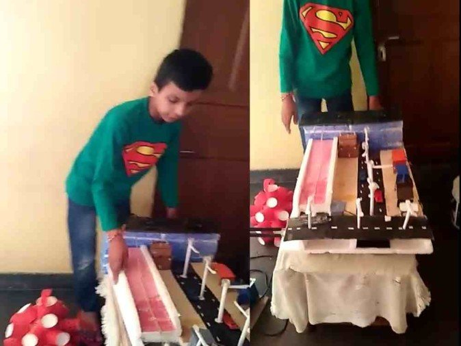 children's day 2017 in India shubham kala project story