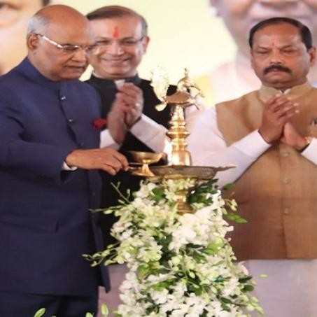 president ramnath kovid attended the function of foundation day of jharkhand 15 november