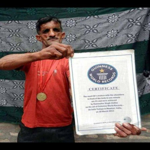 weird stories, unique people, indian rubber man rammehar punia bizarre record in guinness book