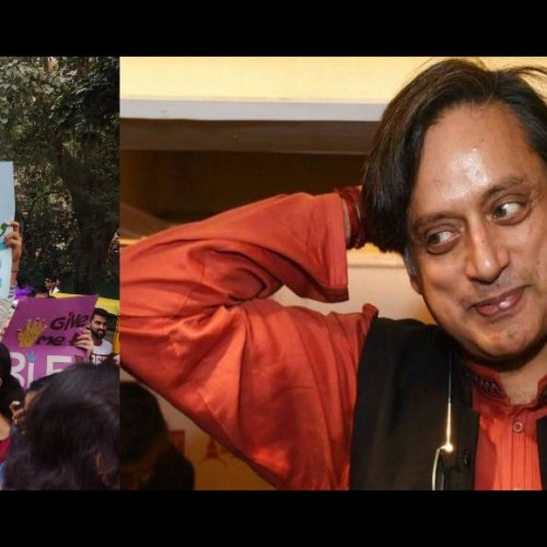 shashi tharoor gets marriage proposal in lgbtq pride march, his reply wins hearts of twitter users