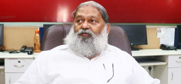 bjp minister anil vij controversial statement on mahatma gandhi, congress