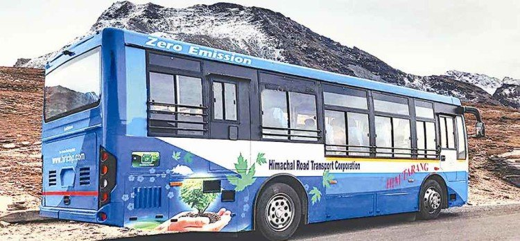 himachal govt nod for route permits for electric buses