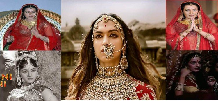 Deepika Padukone is not the only actress to portray of rani Padmini on the big screen