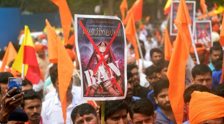 protest for ban on Padmavati in Karnataka BJP MLA Ram Kadam says will not let him shoot any film