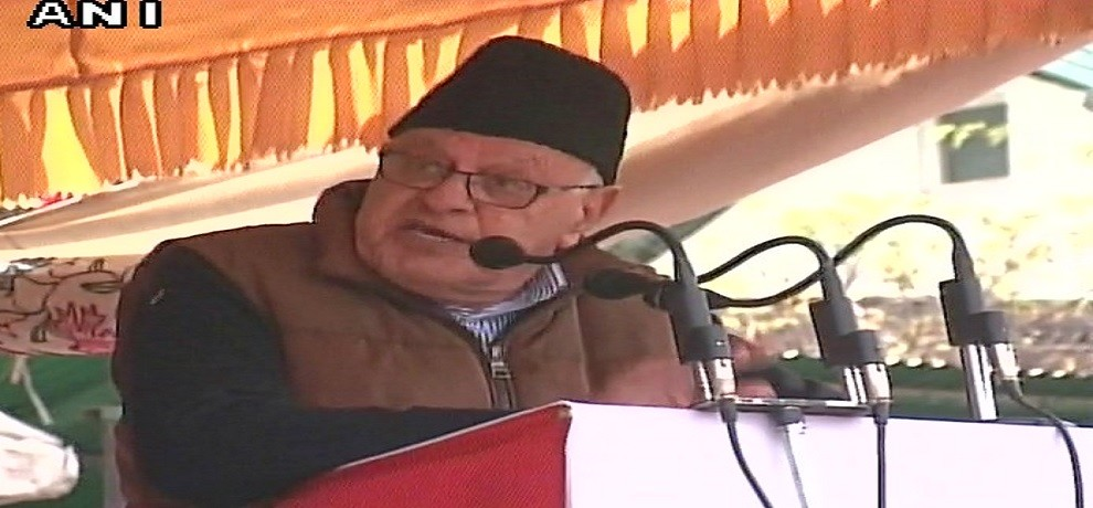 Farooq Abdullah give reaction on POK