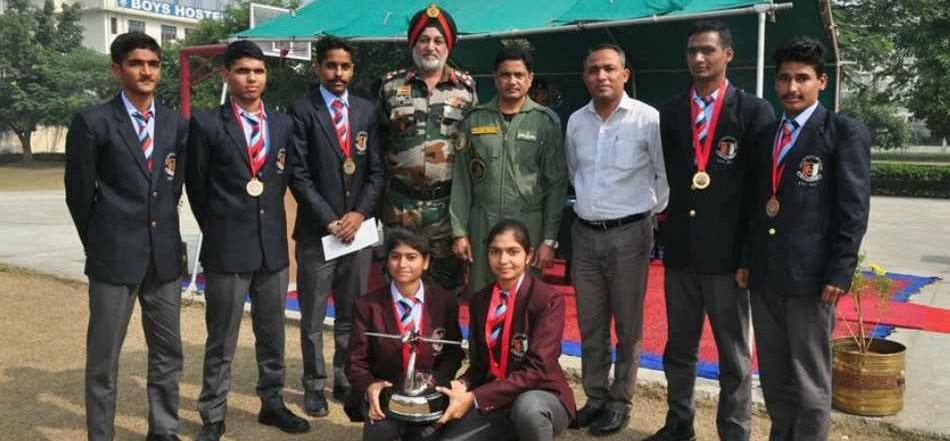 ambala group air commander gps sandhu honoured haryana ncc cadets