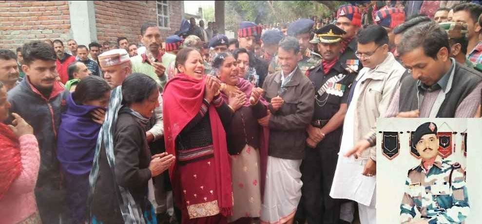 Himachal Mandi Martyr Inder Singh Cremated With Full Military Honours Side Story